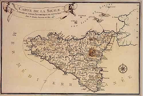 Cartina Sicilia Antica.Trapaniok Trapani A Palazzo Milo La Mostra Dedicata A Jean Houel