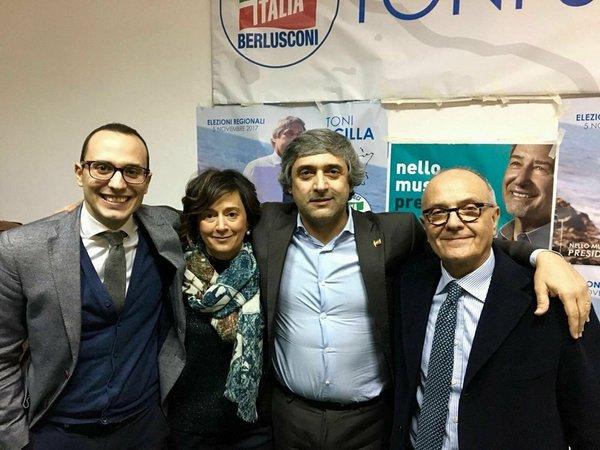 Trapaniok manifestazione politica di forza italia for Deputati di forza italia