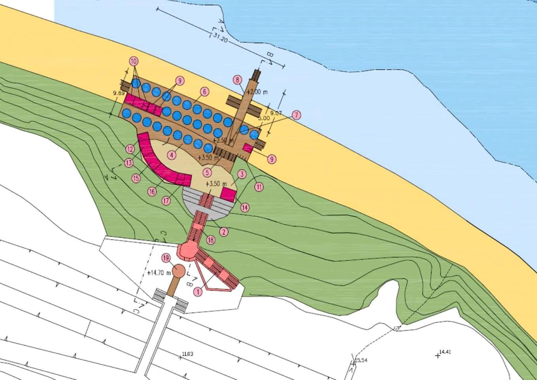 Trapaniok lavori pubblici pollina finanziato progetto for Costo del solarium per piede quadrato