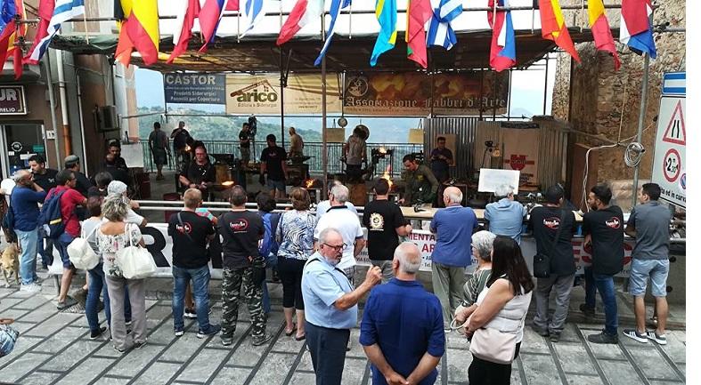 San Marco d´Alunzio - Si è concluso domenica 5 agosto l&#39;XI concorso internazionale di <b>arte</b> fabbrile